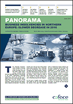 Business insolvencies in Northern Europe